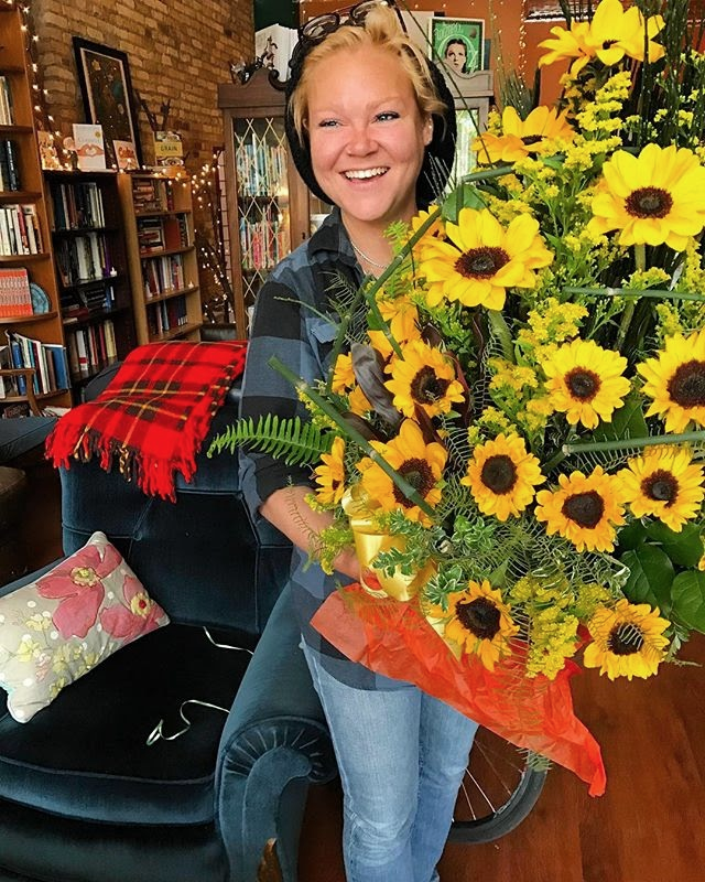 Chelsea with Flowers