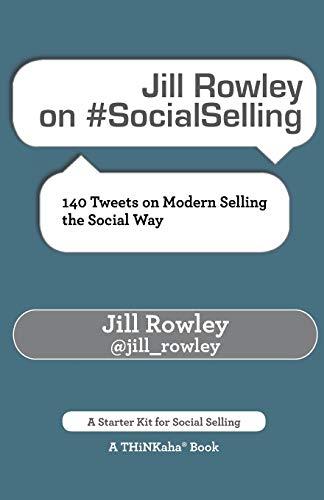 Jill Rowley on #SocialSelling book image