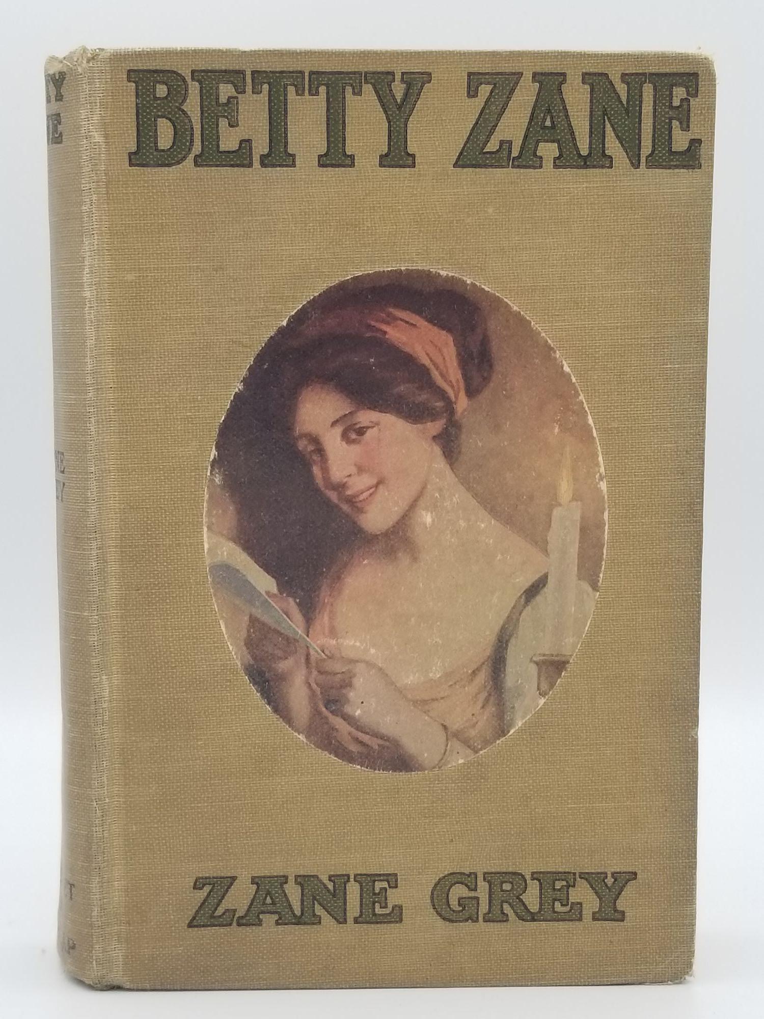 Betty Zane book image