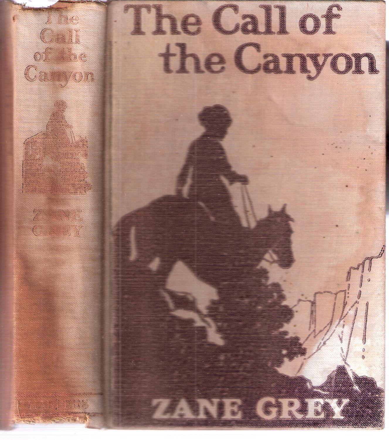 The Call of the Canyon book image