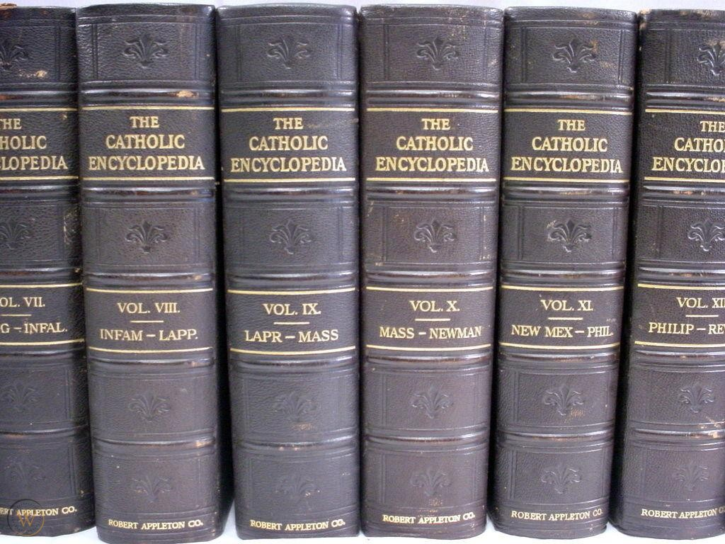 The Catholic Encyclopedia book image