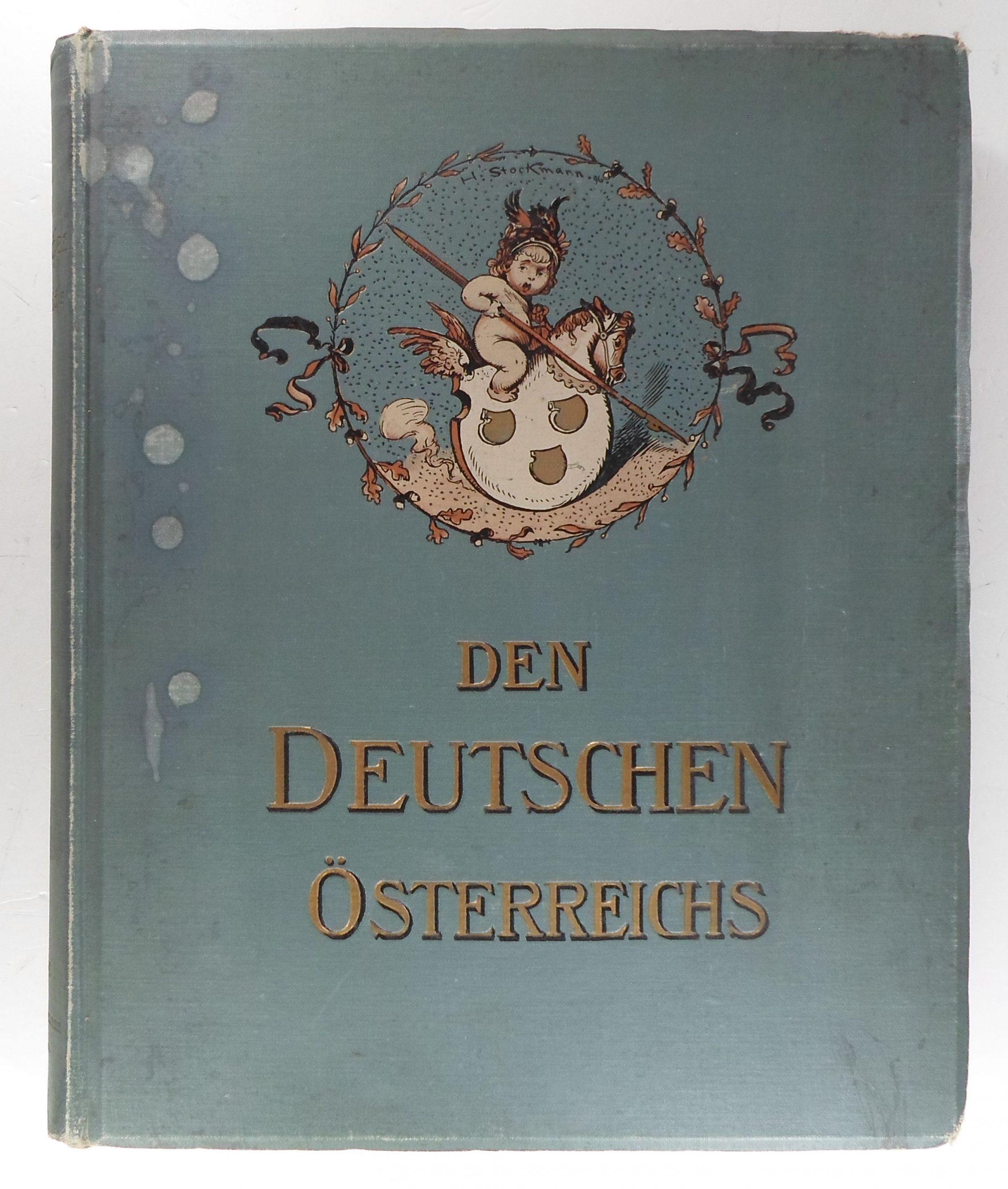 Den Deutschen Oesterreichs! book image