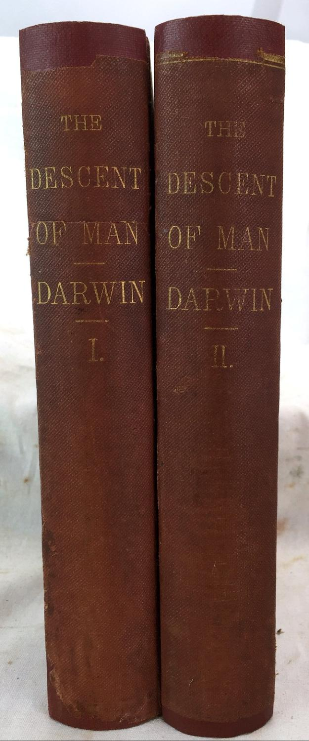 The Descent of Man and Selection in Relation to Sex, 2 Vols. book image