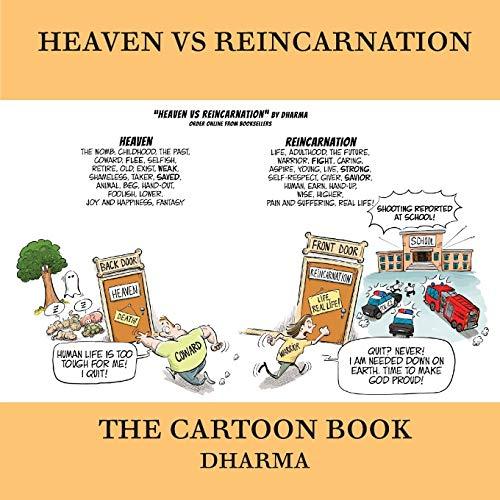 Heaven vs Reincarnation: The Cartoon Book book image
