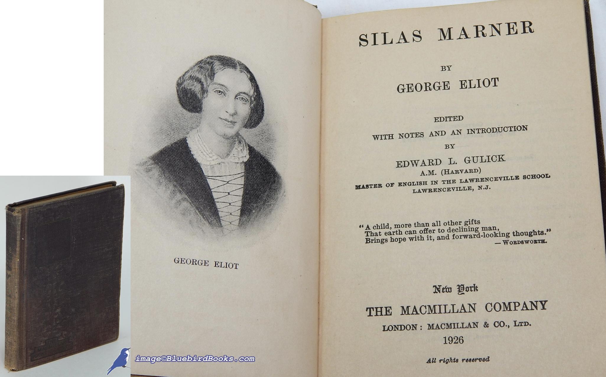 Silas Marner book image