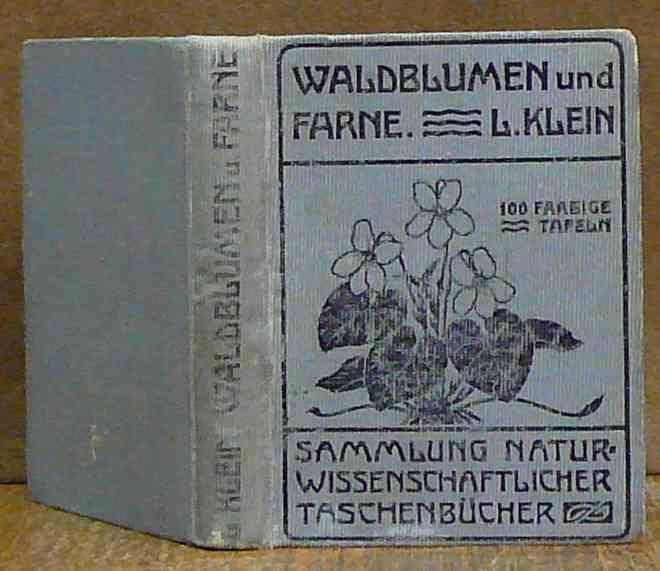 Unsere Waldblumen und Farngewachse book image