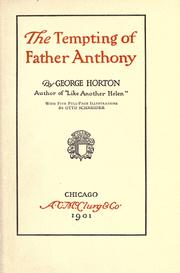 The Tempting of Father Anthony book image