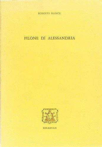 Filone di Alessandria book image