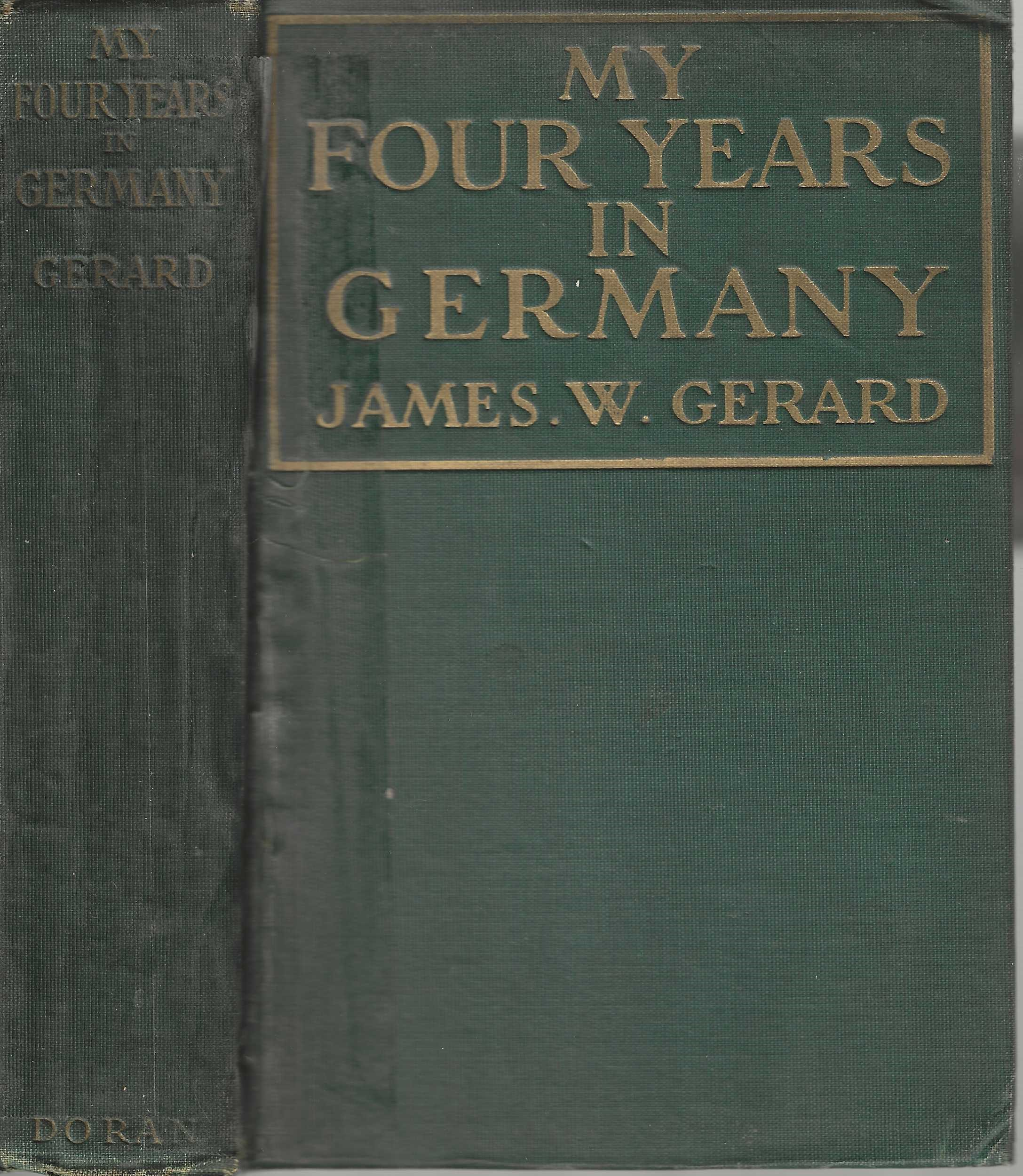 My Four Years in Germany book image