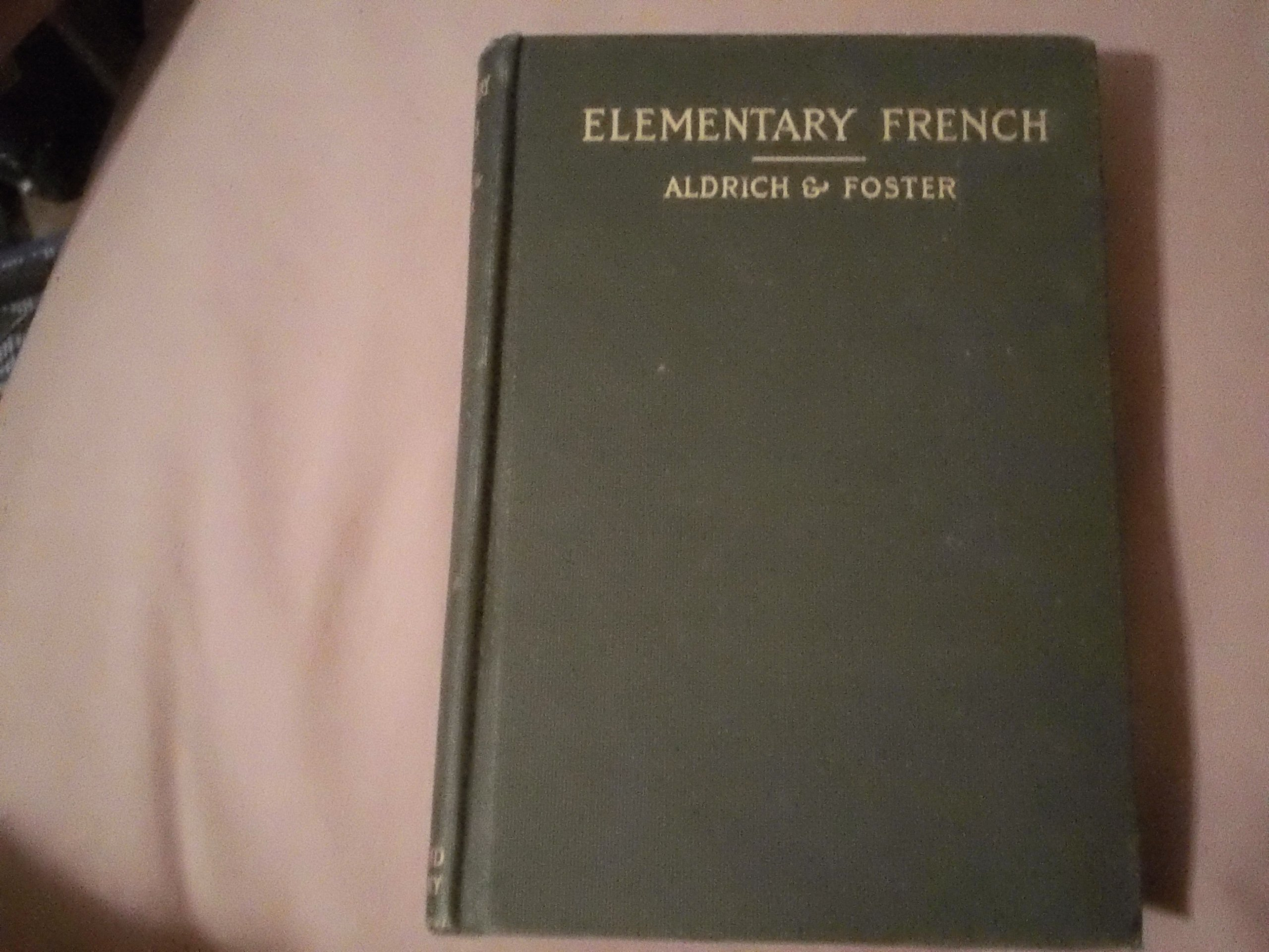 Elementary French book image