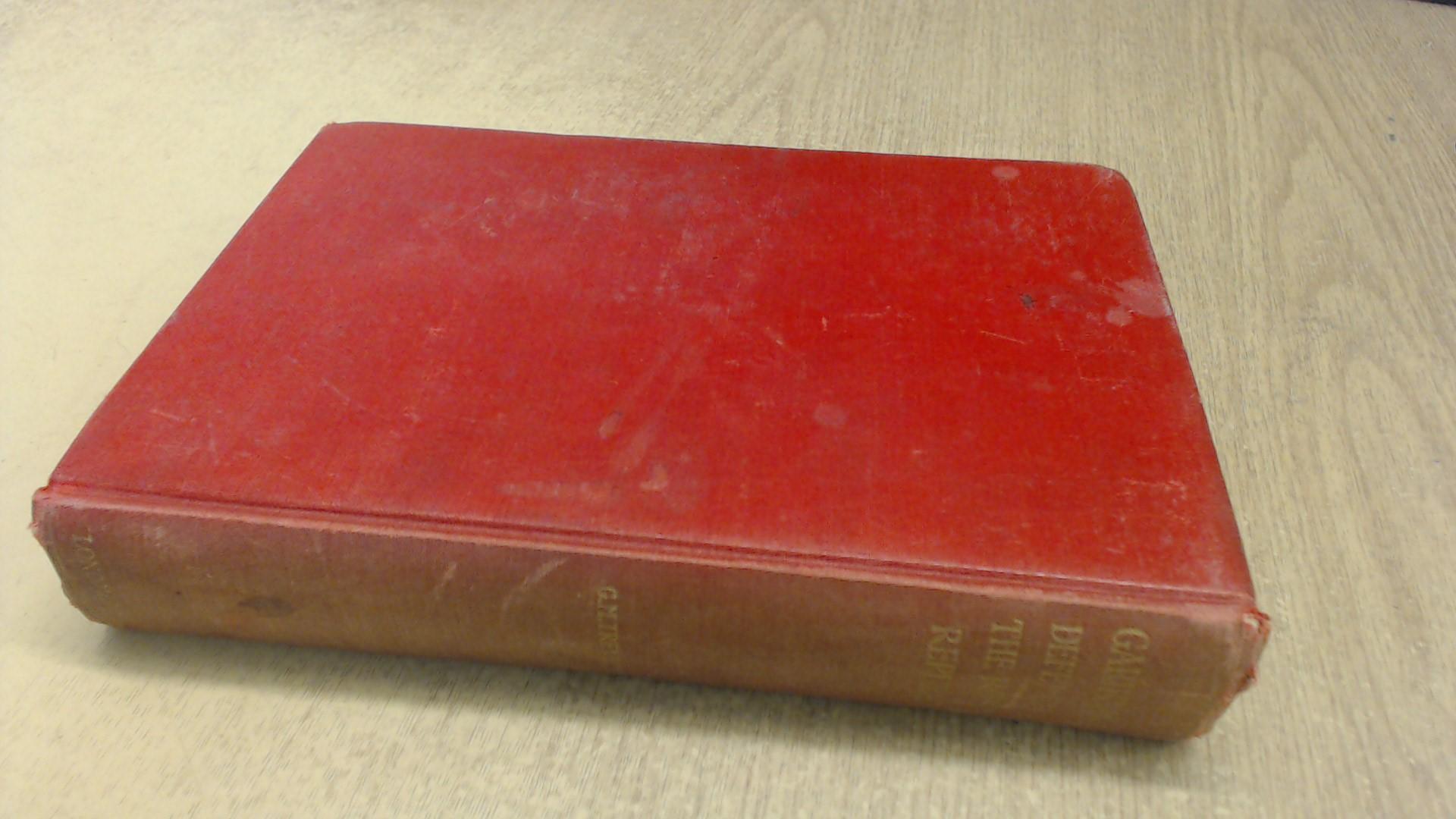 Garibaldi's Defence of the Roman Republic book image