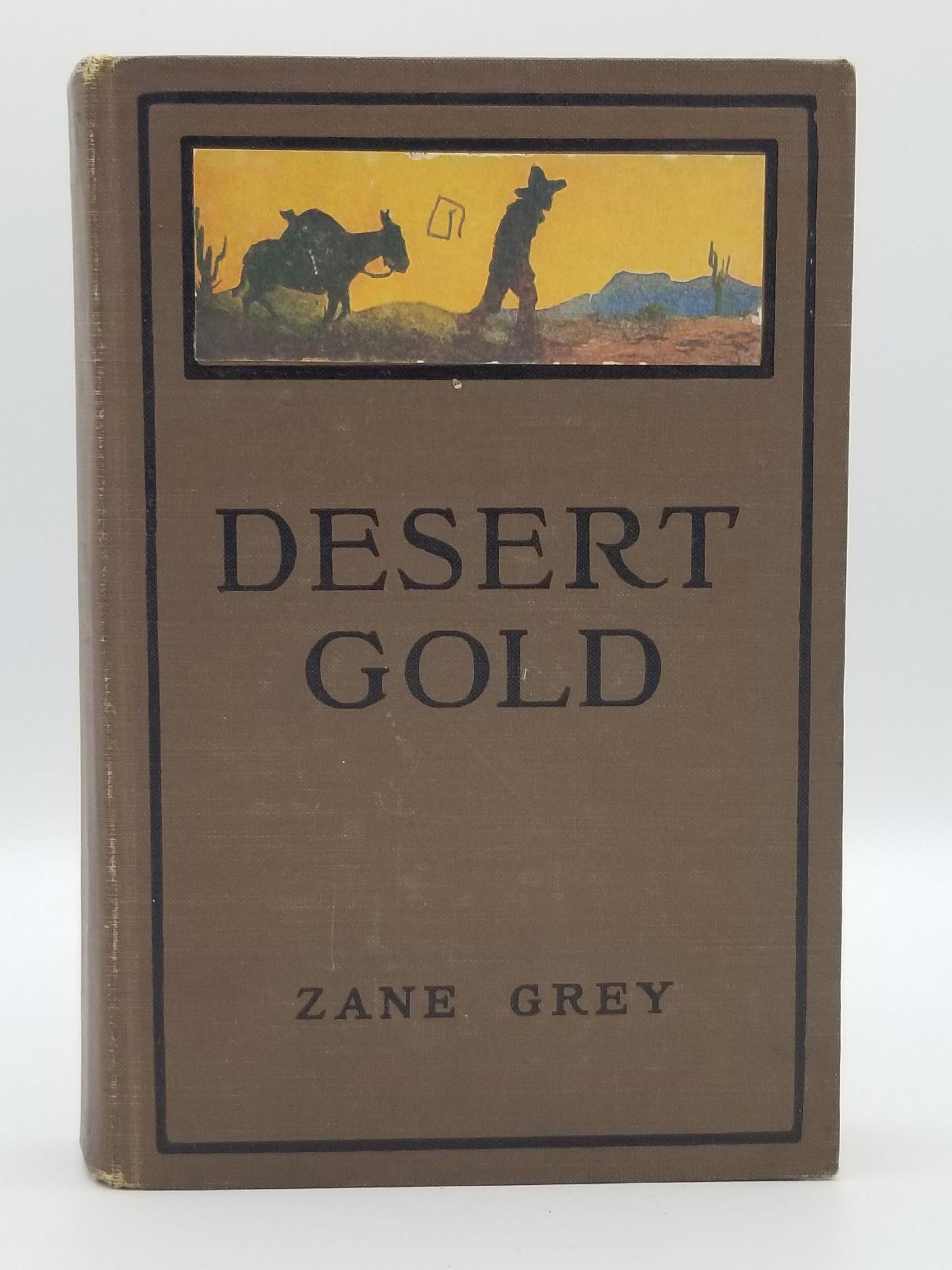 Desert Gold book image