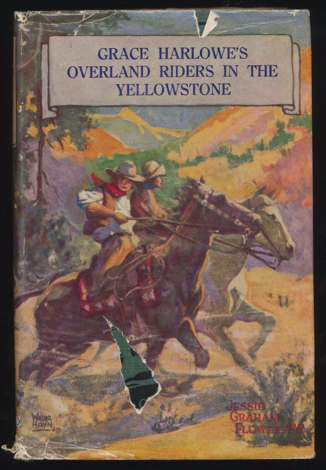 Grace Harlowe's Overland Riders in the Black Hills book image