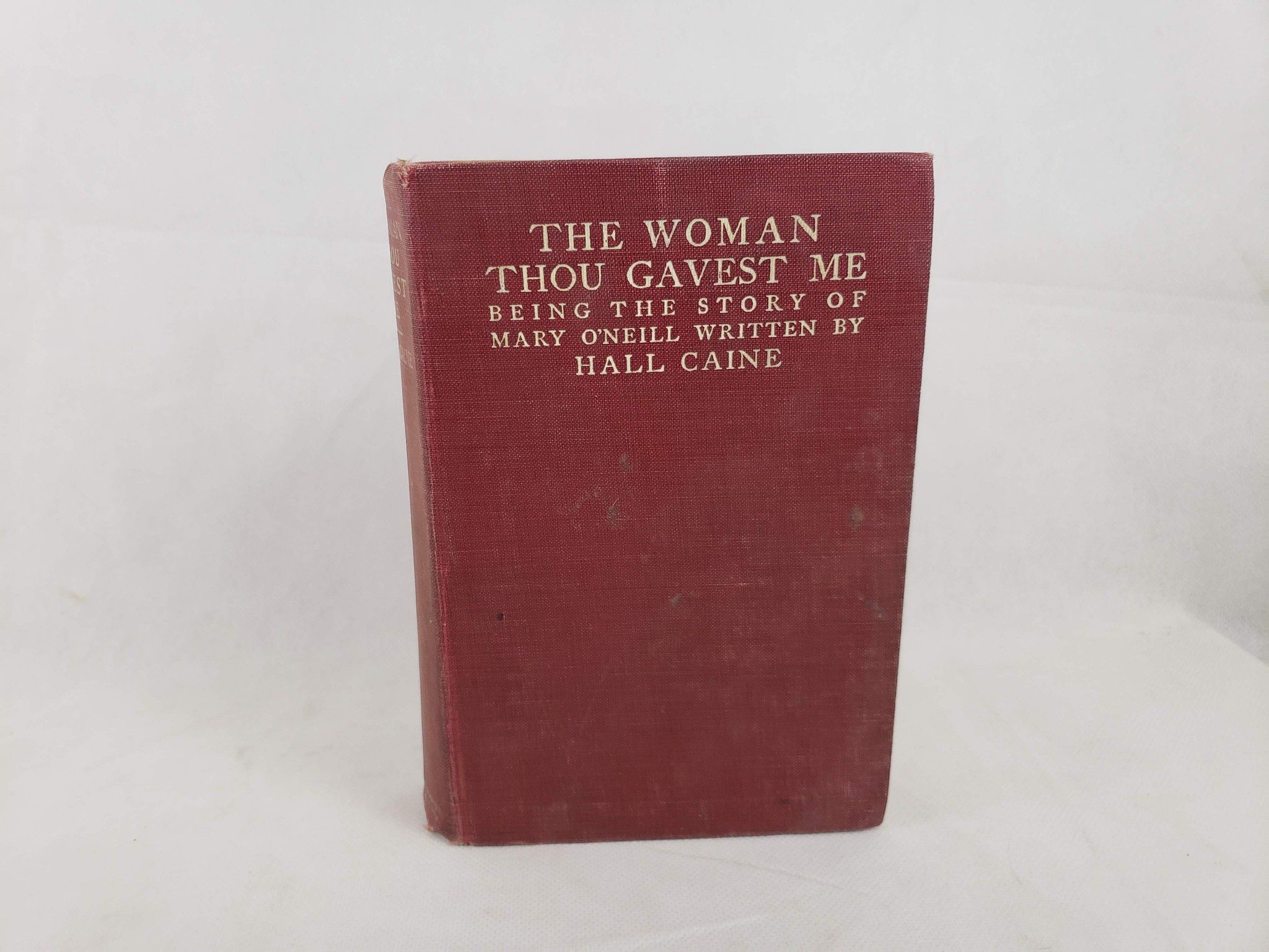 The Woman Thou Gavest Me book image