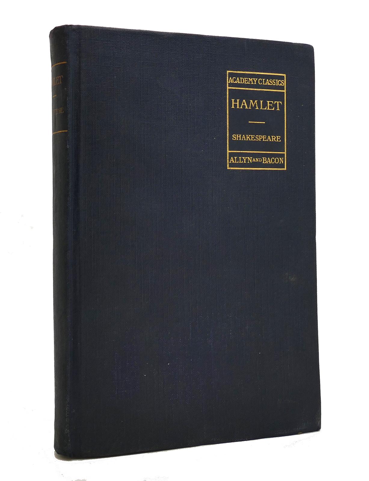 Hamlet book image