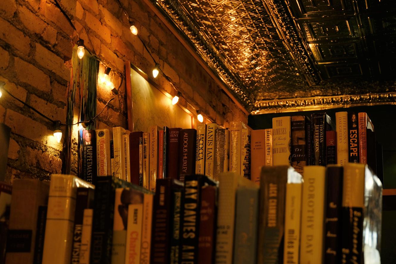 Heirloom Books Upstairs