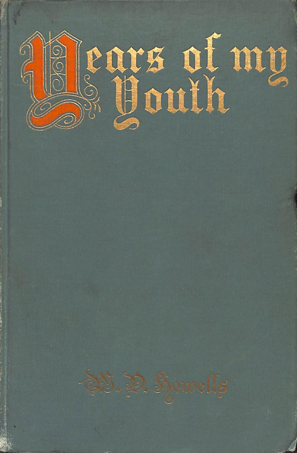 Years of My Youth book image