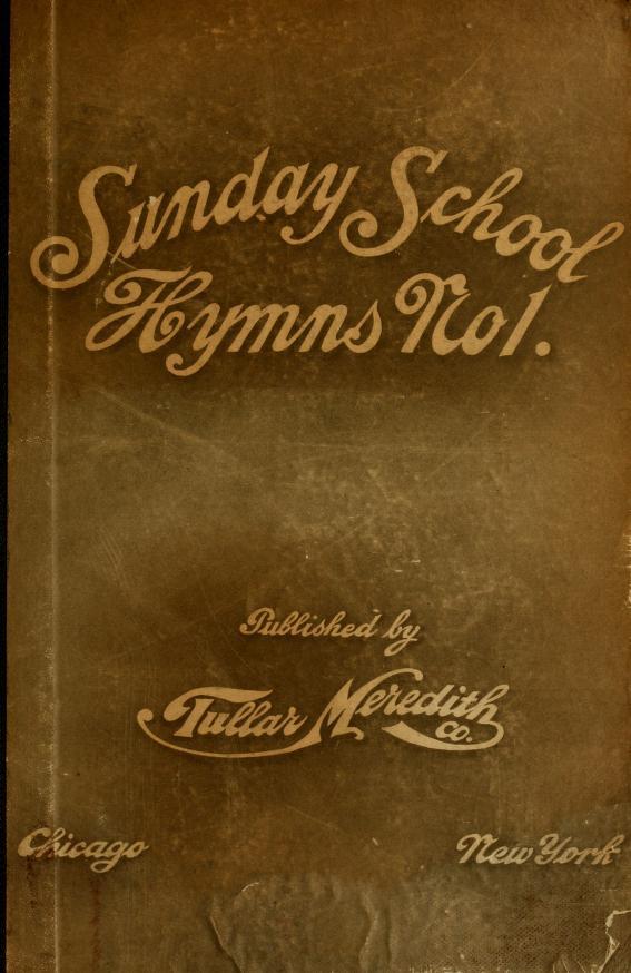 Sunday School Hymns No. 1 book image