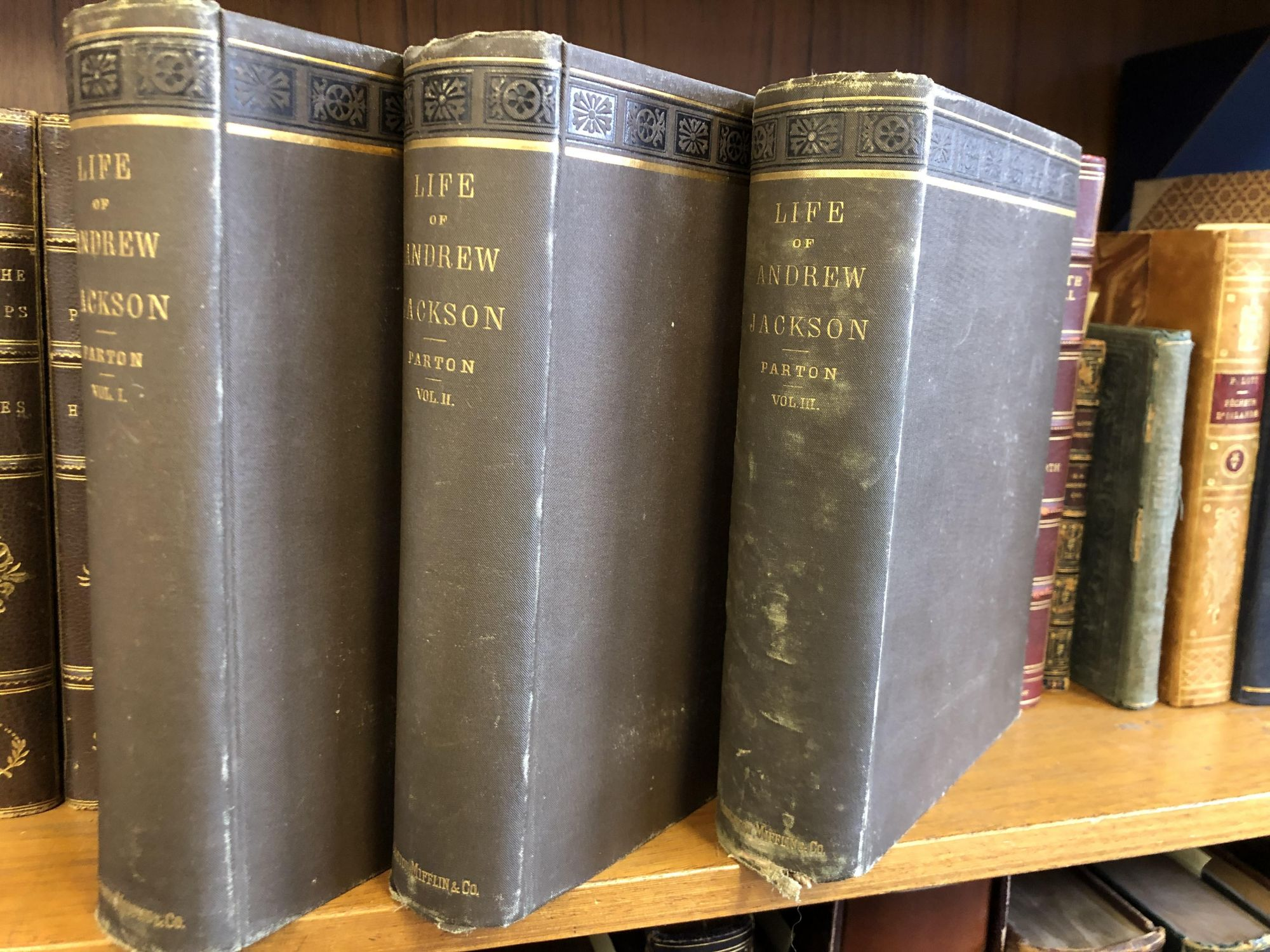 Life of Andrew Jackson, 3 Vols. book image