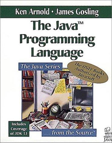 The Java Programming Language book image