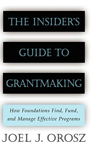 The Insider's Guide to Grantmaking book image
