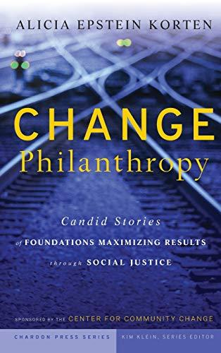 Change Philanthropy book image