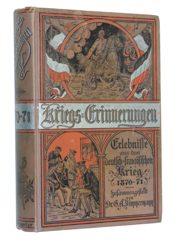 Kriegs: Erinnerungen book image
