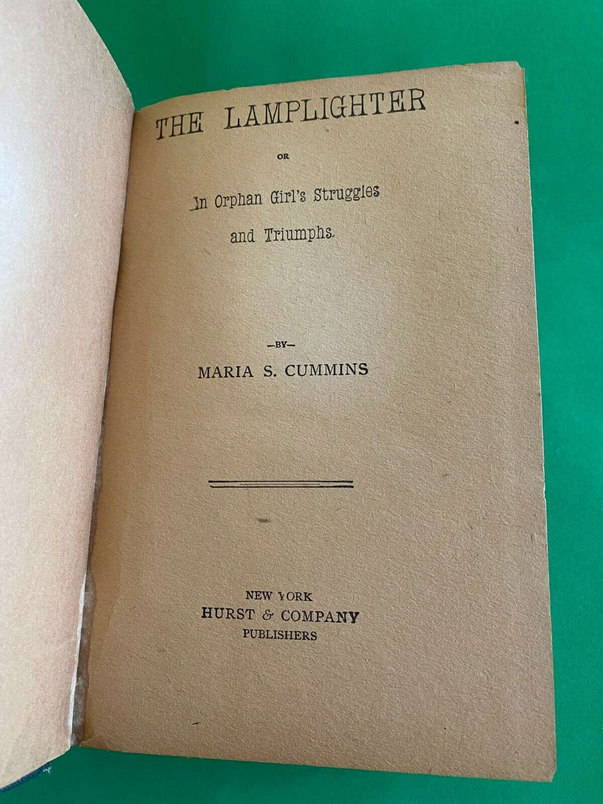 Lamplighter book image