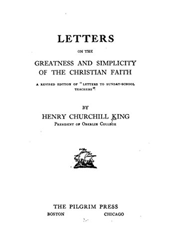 Letters on the Greatness and Simplicity of the Christian Faith book image