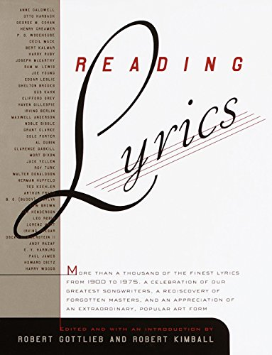 Reading Lyrics book image
