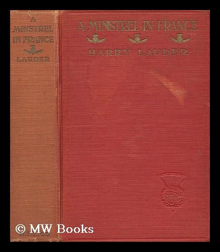 A Minstrel in France book image