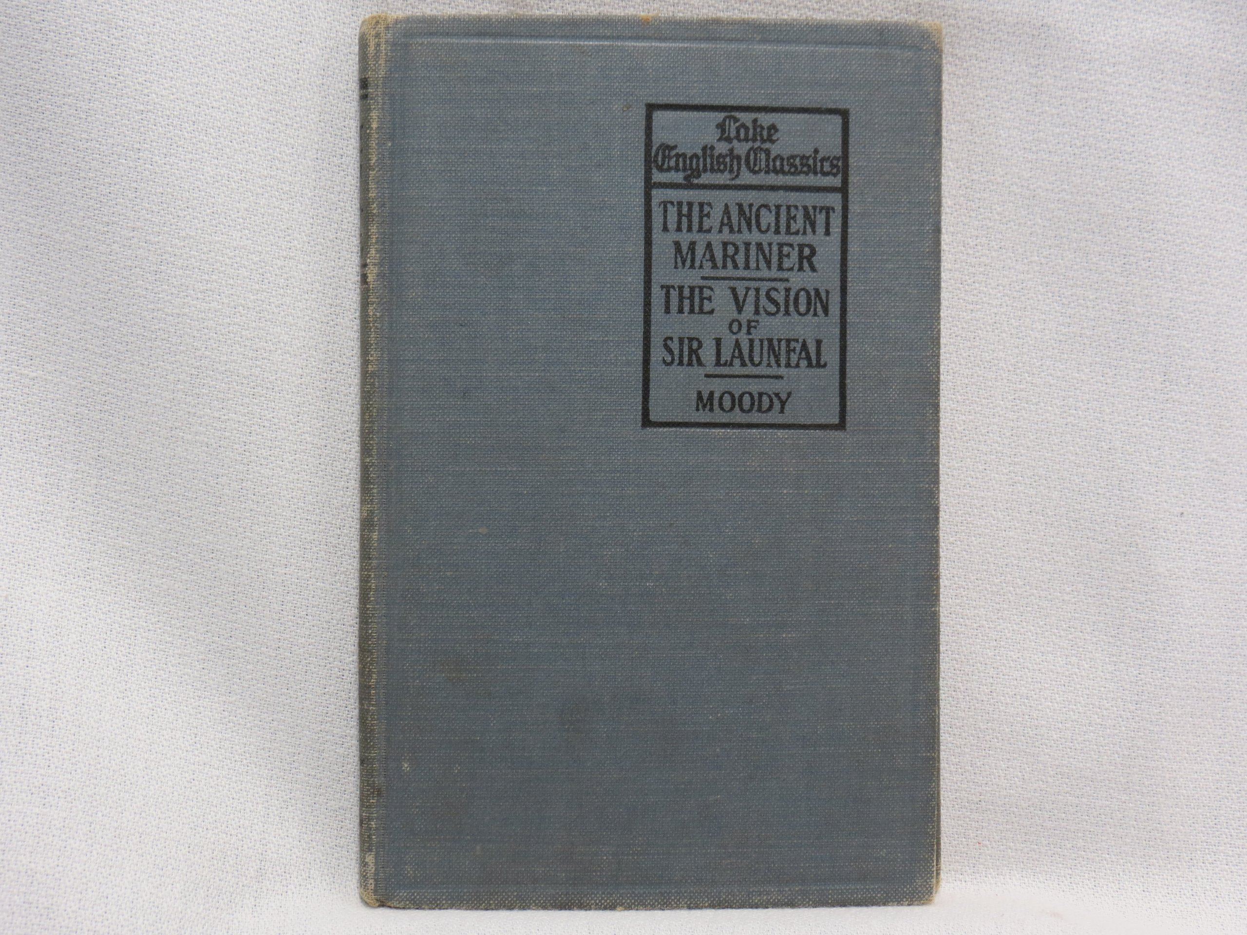 The Rime of the Ancient Mariner/The Vision of Sir Launfal book image