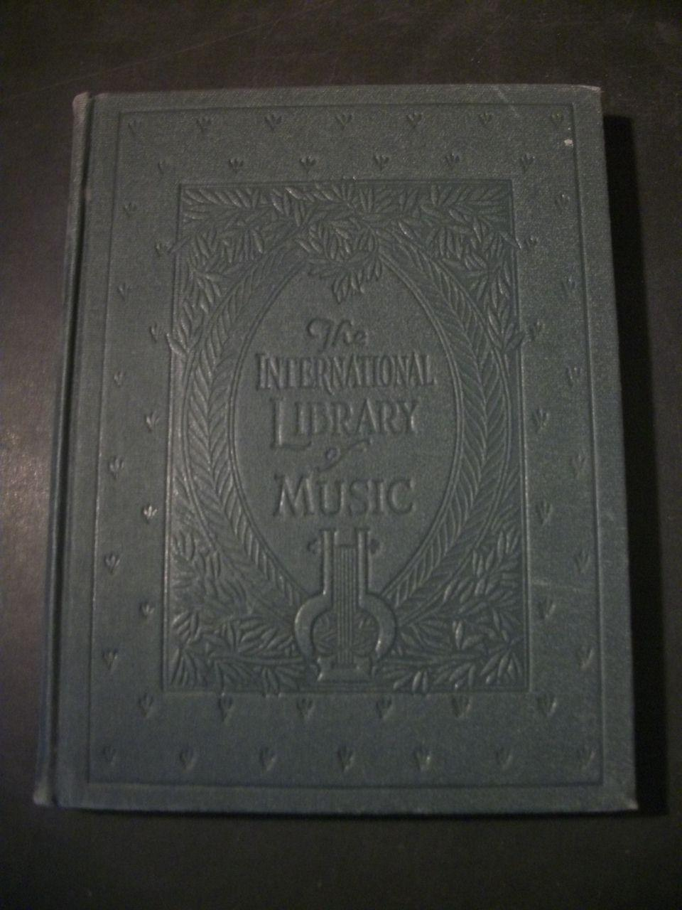 The International Library of Music for Home and Studio, Volume V book image