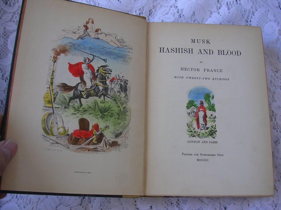 Musk, Hashish and Blood book image