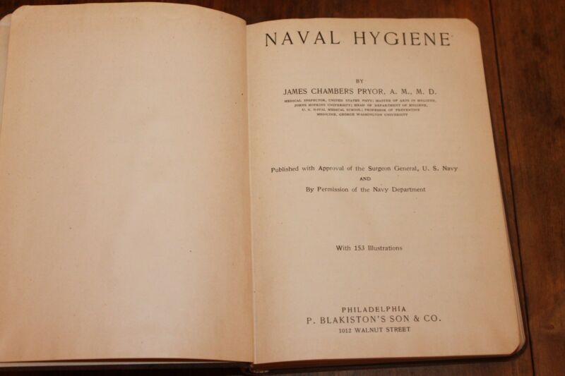 Naval Hygiene book image