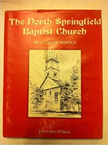 The North Springfield Baptist Church book image