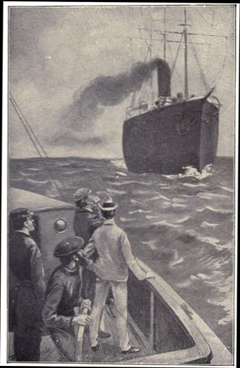The Rover Boys on the Ocean book image