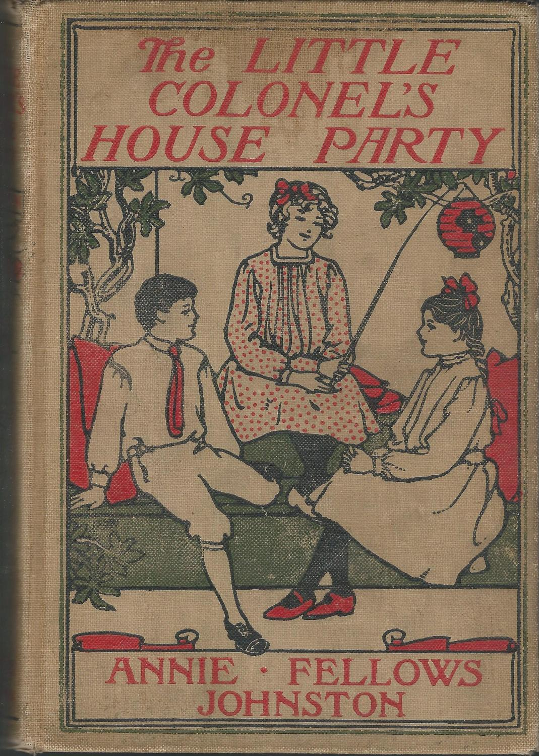 The Little Colonel's House Party book image