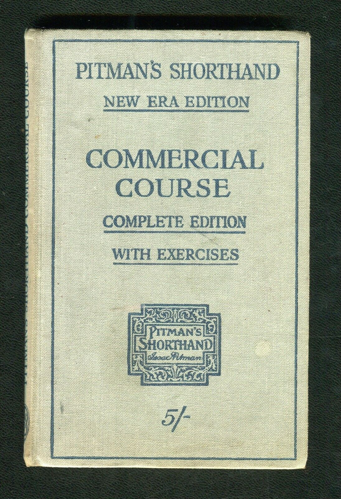 Pitman's Shorthand Commercial Course book image