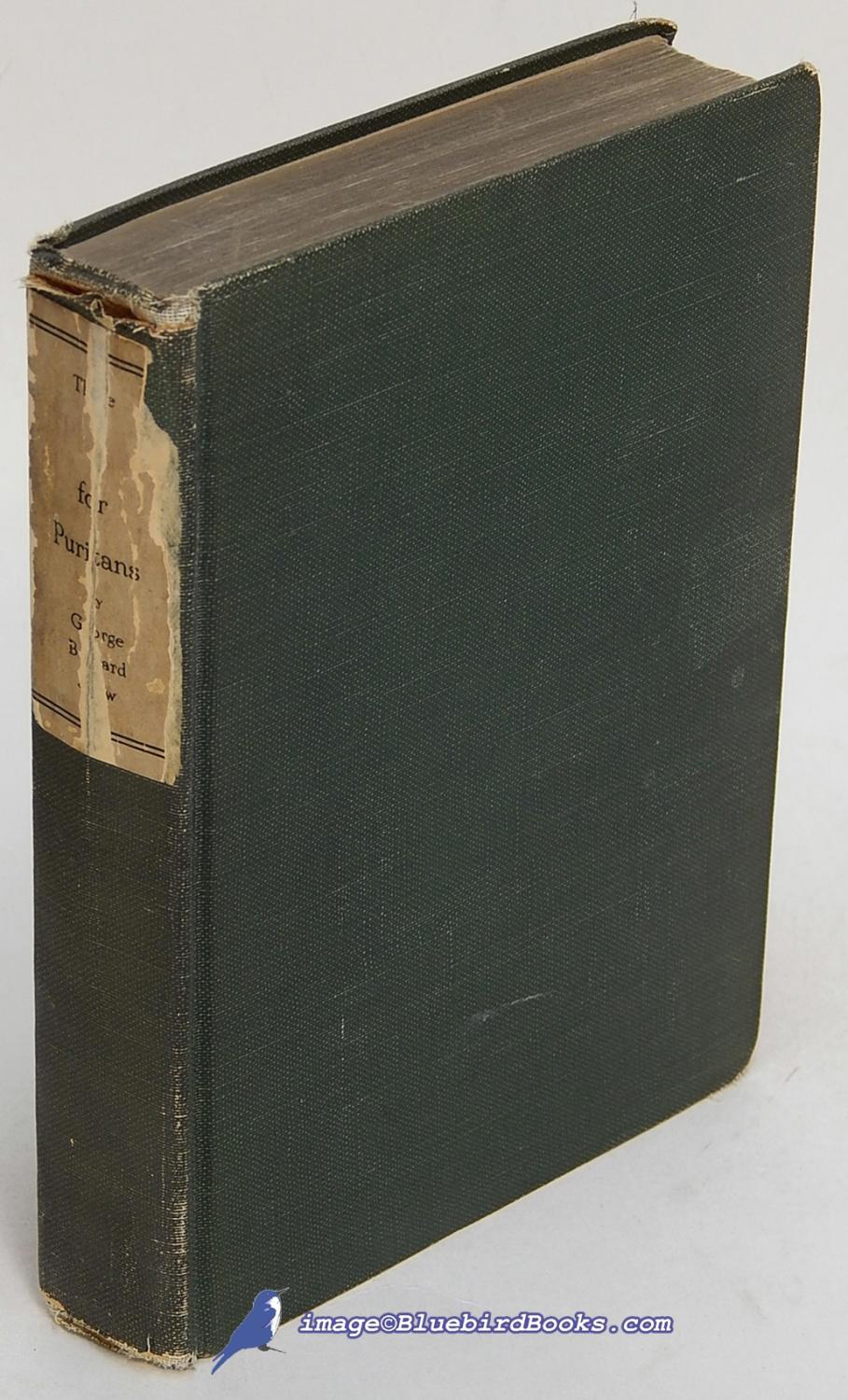 Three Plays for Puritans book image