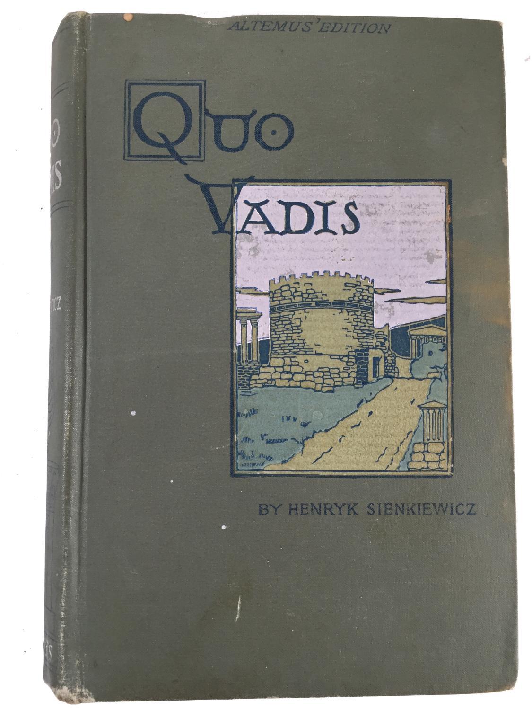 Quo Vadis book image