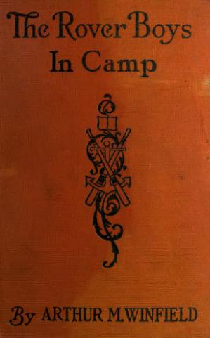 The Rover Boys in Camp book image