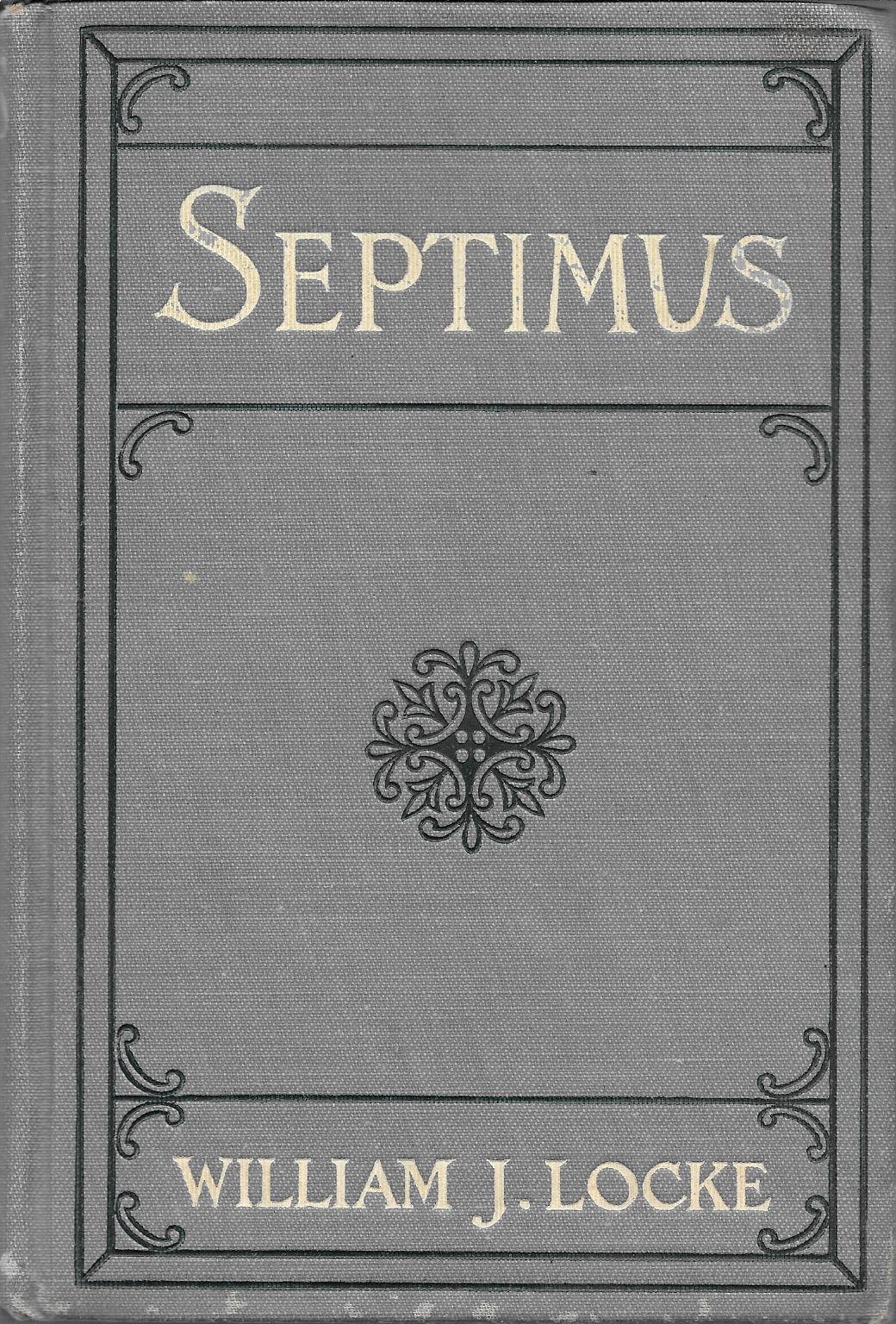 Septimus book image
