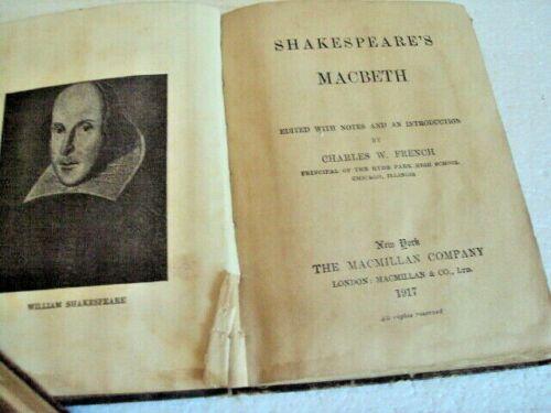 Macbeth book image