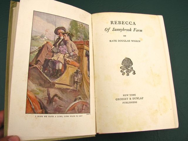 Rebecca of Sunnybrook Farm book image