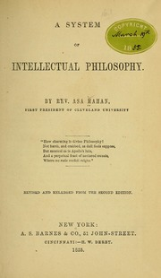 A System of Intellectual Philosophy book image