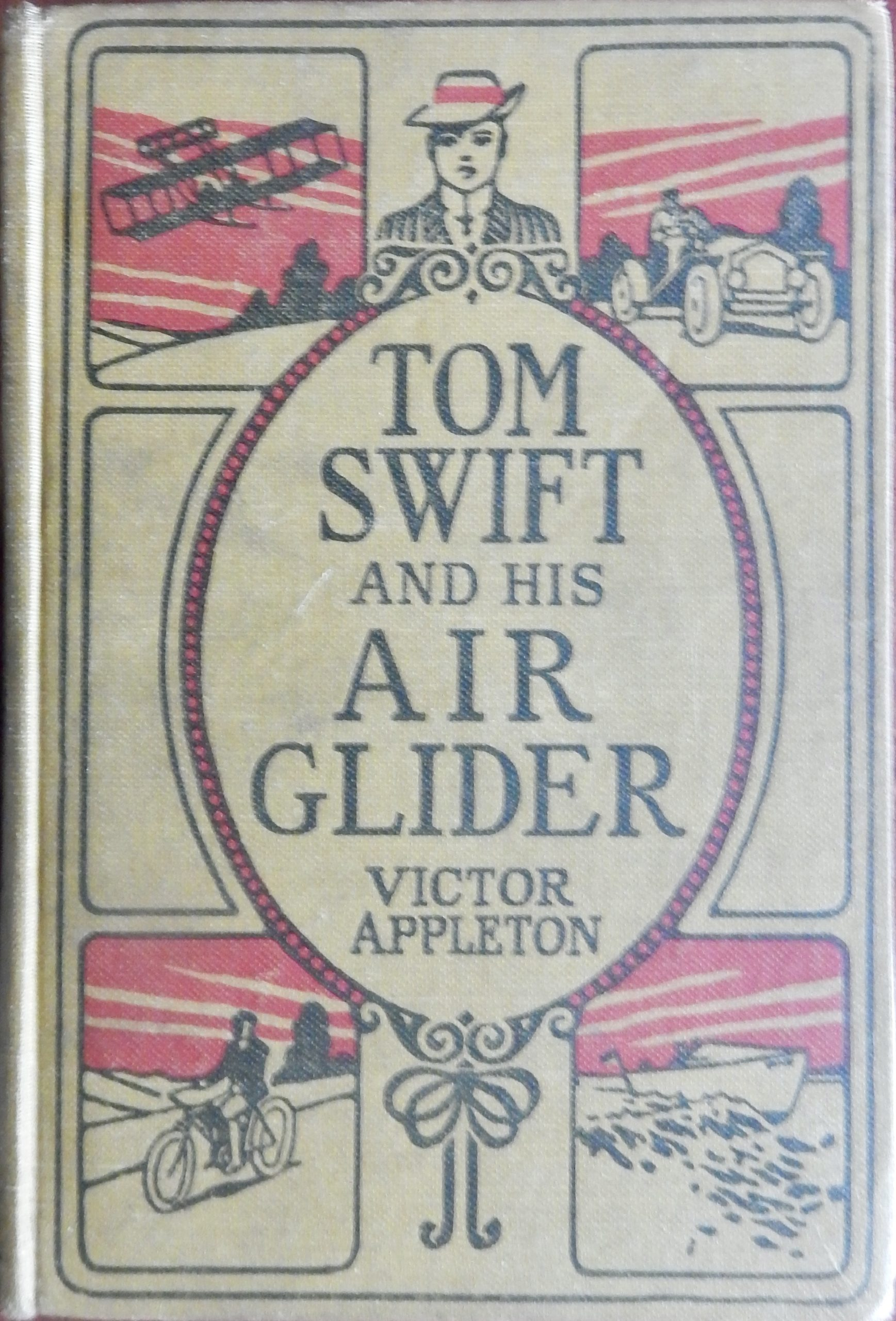 Tom Swift and His Air Glider book image