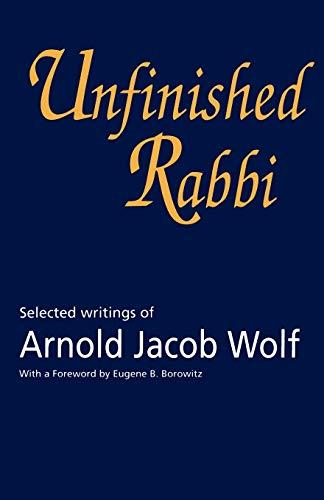Unfinished Rabbi book image