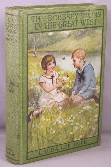 The Bobbsey Twins in the Great West book image