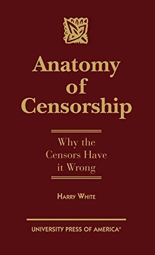 Anatomy of Censorship book image